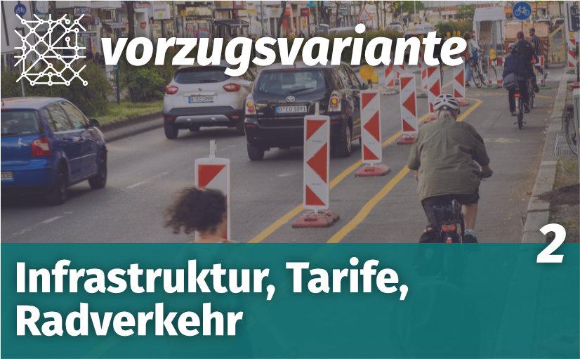 VZV002 Infrastruktur, Tarife, Radverkehr